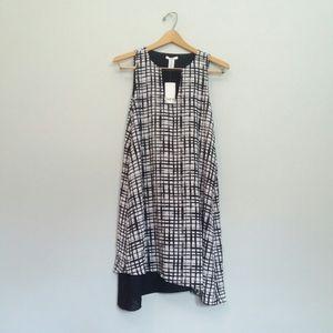 Barr III Dress Black White Tank Dress